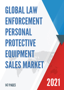 Global Law Enforcement Personal Protective Equipment Sales Market Report 2021