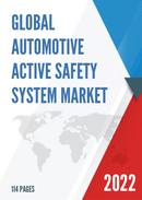 Global Automotive Active Safety System Market Size Status and Forecast 2021 2027