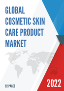Global Cosmetic Skin Care Product Market Size Status and Forecast 2021 2027