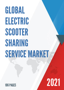 Global Electric Scooter Sharing Service Market Size Status and Forecast 2021 2027