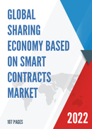 Global Sharing Economy Based On Smart Contracts Market Size Status and Forecast 2021 2027