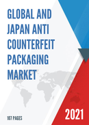 Global and Japan Anti Counterfeit Packaging Market Size Status and Forecast 2021 2027