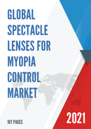 Global Spectacle Lenses for Myopia Control Market Research Report 2021