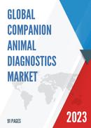 Global Companion Animal Diagnostics Market Size Status and Forecast 2021 2027