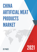 China Artificial Meat Products Market Report Forecast 2021 2027