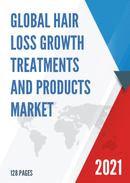 Global Hair Loss Growth Treatments and Products Market Size Status and Forecast 2021 2027