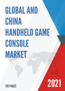 Global and China Handheld Game Console Market Insights Forecast to 2027