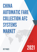 China Automatic Fare Collection AFC Systems Market Report Forecast 2021 2027