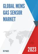 Global and Japan MEMS Gas Sensor Market Insights Forecast to 2027