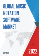 Global Music Notation Software Market Size Status and Forecast 2021 2027