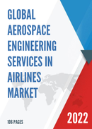 Global Aerospace Engineering Services in Airlines Market Size Status and Forecast 2021 2027
