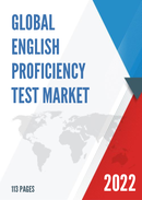 Global English Proficiency Test Market Size Status and Forecast 2021 2027