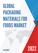 Global Packaging Materials for Foods Market Size Status and Forecast 2021 2027