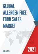 Global Allergen Free Food Sales Market Report 2021