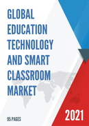 Global Education Technology and Smart Classroom Market Size Status and Forecast 2021 2027