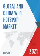 Global and China Wi Fi Hotspot Market Size Status and Forecast 2021 2027