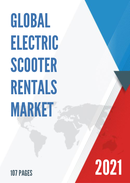 Global Electric Scooter Rentals Market Size Status and Forecast 2021 2027
