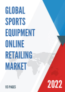 Global Sports Equipment Online Retailing Market Size Status and Forecast 2021 2027