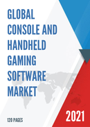 Global Console and Handheld Gaming Software Market Size Status and Forecast 2021 2027