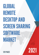 Global Remote Desktop and Screen Sharing Software Market Size Status and Forecast 2021 2027
