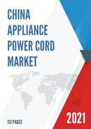 China Appliance Power Cord Market Report Forecast 2021 2027