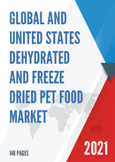 Global and United States Dehydrated and Freeze Dried Pet Food Market Insights Forecast to 2027