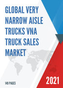Global Very Narrow Aisle Trucks VNA Truck Sales Market Report 2021