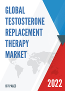 Global Testosterone Replacement Therapy Market Size Manufacturers Supply Chain Sales Channel and Clients 2021 2027