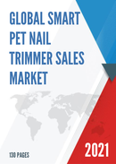 Global Smart Pet Nail Trimmer Sales Market Report 2021