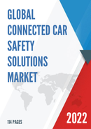 Global Connected Car Safety Solutions Market Size Status and Forecast 2021 2027