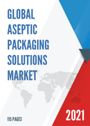 Global Aseptic Packaging Solutions Market Size Status and Forecast 2021 2027