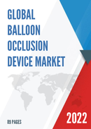 Global and China Balloon Occlusion Device Market Insights Forecast to 2027