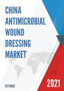 China Antimicrobial Wound Dressing Market Report Forecast 2021 2027