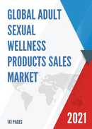 Global Adult Sexual Wellness Products Sales Market Report 2021