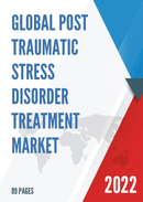 Global Post Traumatic Stress Disorder Treatment Market Size Status and Forecast 2021 2027