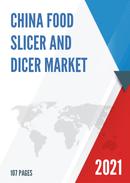 China Food Slicer and Dicer Market Report Forecast 2021 2027
