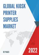Global Kiosk Printer Supplies Market Size Status and Forecast 2021 2027