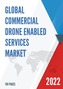 Global Commercial Drone enabled Services Market Size Status and Forecast 2021 2027