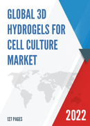 Global 3D Hydrogels for Cell Culture Market Size Status and Forecast 2021 2027