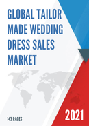 Global Tailor Made Wedding Dress Sales Market Report 2021