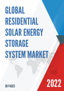Global Residential Solar Energy Storage System Market Size Status and Forecast 2021 2027