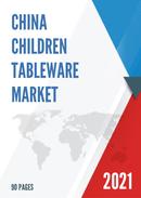 China Children Tableware Market Report Forecast 2021 2027