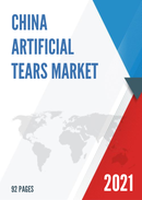 China Artificial Tears Market Report Forecast 2021 2027