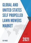 Global and United States Self Propelled Lawn Mowers Market Insights Forecast to 2027