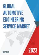 Global Automotive Engineering Service Market Size Status and Forecast 2021 2027