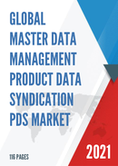 Global Master Data Management Product Data Syndication PDS Market Size Status and Forecast 2021 2027