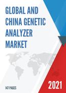 Global and China Genetic Analyzer Market Insights Forecast to 2027
