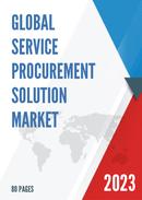 Global Service Procurement Solution Market Size Status and Forecast 2021 2027