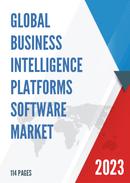Global Business Intelligence Platforms Software Market Size Status and Forecast 2021 2027
