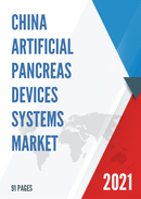 China Artificial Pancreas Devices Systems Market Report Forecast 2021 2027